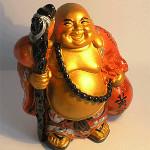 Хоттей - самый популярный бог счастья. Помогает в осуществлении самых заветных желаний.