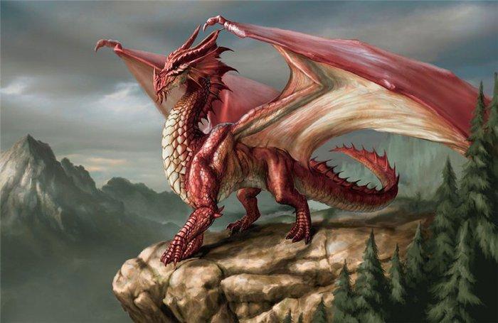 Мифическое животное - дракон